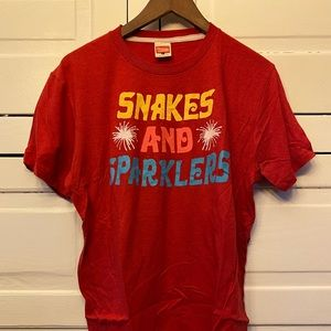 "Homage ""Snakes and Sparklers"" T-Shirt"